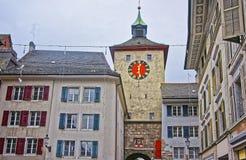 Bieltor-Tor in Solothurn von der Schweiz Stockfoto