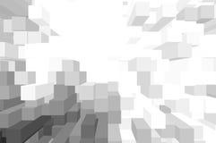 Bielu blokowy tło Fotografia Royalty Free