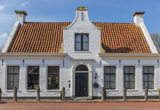 Bielu dom w histroical wiosce Aduard Obrazy Royalty Free