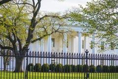 Bielu dom w washington dc 7, 2017 - prezydenci biuro - washington dc KOLUMBIA, KWIECIEŃ - Zdjęcia Stock