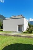 Bielu domowy widok od łąki Obraz Stock
