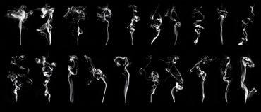 Bielu dym Zdjęcia Royalty Free