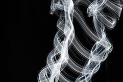 Bielu dym Obrazy Royalty Free