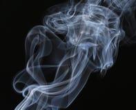 Bielu dymu strumienia zakończenie up. Obraz Stock
