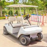 Bielu golfowy samochód Obraz Royalty Free