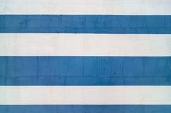 Bielu i błękita tła tekstury cementowa powierzchnia Fotografia Royalty Free