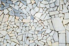 Bielu i szarość marmurowy abstrakt dryluje mozaiki teksturę jako tło Zdjęcie Stock