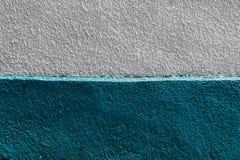 Bielu i zieleni ścienna tekstura Fotografia Stock