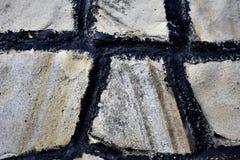 Bielu kamienia wzór Zdjęcie Royalty Free