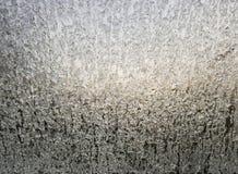 Bielu lód na okno zdjęcie stock