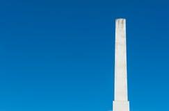 Bielu marmurowego obelisku męski pojęcie Zdjęcie Royalty Free