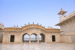 Bielu marmurowy pałac, Agra fort, India Obraz Royalty Free