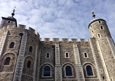 Bielu wierza przy wierza Londyn Fotografia Royalty Free