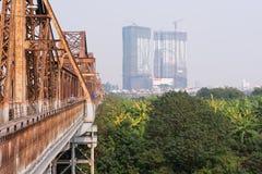 bien мост длинний Стоковая Фотография RF