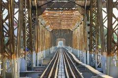 bien мост длинний Стоковое фото RF