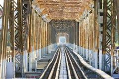 bien мост длинний Стоковые Фотографии RF
