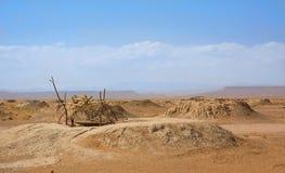 Bien adentro un Sáhara Foto de archivo