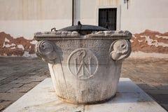 Bien adentro una Venecia, Italia a partir de 1059 Imagen de archivo
