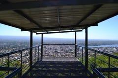 Bien allumé aléatoire panoramique de photo Image stock