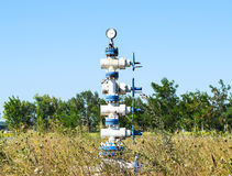 Bien pour l'entretien de la pression de réservoir L'eau de pompage dans la couche Photo libre de droits