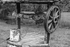 Bien pour l'extraction de l'eau photographie stock