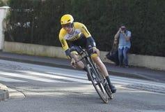 Bien reçu Néerlandais de cycliste de Kelderman Images stock