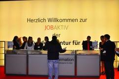 Bienal Германия ярмарки вакансий 20,21 ноябрь 2013 Стоковое Изображение