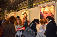 Bienal Германия ярмарки вакансий 20,21 ноябрь 2013 Стоковые Изображения