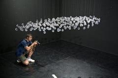 Bienal di Venezia, arte Exibithion Venecia Foto de archivo