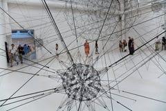 Bienal di Venezia, arte Exibithion Venecia 2009 Fotos de archivo libres de regalías