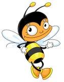 Biene für Leerzeichen lizenzfreie abbildung