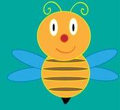 Bienen-Karikatur Lizenzfreie Abbildung