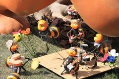 Bienenband Lizenzfreies Stockfoto