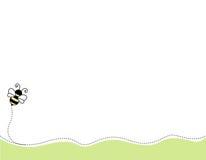 Bienenecke/-rand stock abbildung