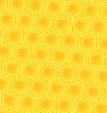 Bienenhonig-Zellenhintergrund Lizenzfreie Stockbilder