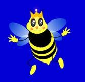 Bienenköniginvektor Stockbilder