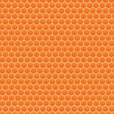Bienenstockmuster-Vektor Hintergrund Lizenzfreie Stockbilder
