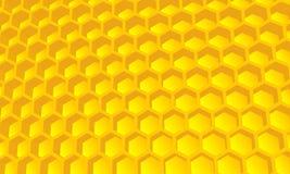Bienenstocktapete, Hintergrund Lizenzfreie Stockfotografie