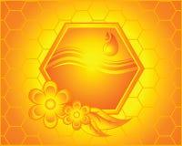 Bienenwabe lizenzfreie abbildung