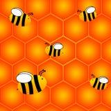 Bienenwabe vektor abbildung