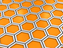 Bienenwabe Stockbild