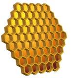 Bienenwabe-Bienenstock Lizenzfreies Stockfoto