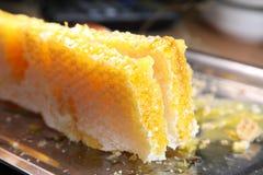 Bienenwabe, Honig Produkte von Imkerei Lizenzfreie Stockfotografie