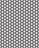 Bienenwabe-nahtloses Muster Lizenzfreie Stockbilder