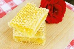 Bienenwaben ein gesunder Nachtisch Stockfoto