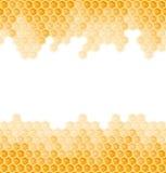 Bienenwabenhintergrund - endlos vektor abbildung