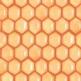 Bienenwabenhonig 2 Stockfotografie