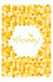 Bienenwabenvektor Lizenzfreies Stockbild