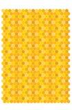 Bienenwabenvektor backgraund Stockfoto