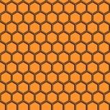 Bienenwabenvektormuster Lizenzfreie Stockfotografie